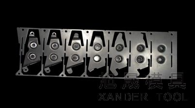 Strip Layout Products Car Mould Hardware Mould Stamping